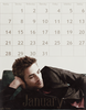 Robert Pattinson foto probably containing a business suit entitled Robert Pattinson 2013 Calender