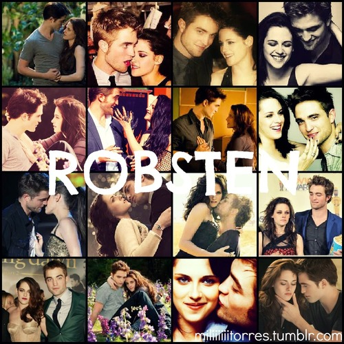 Robert Pattinson & Kristen Stewart 壁纸 possibly containing 日本动漫 entitled Robsten