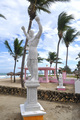 Rocky Statue in Cabarete, Dominican Republic