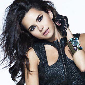 Romanian Singer Inna's Makeup