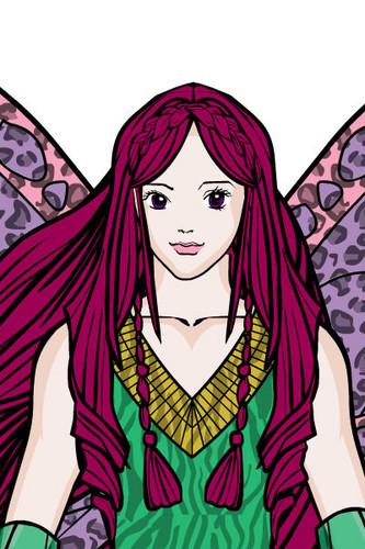 Roxy's fairy forms shabiki art