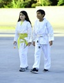 Royal Jackson with his cousin Blanket Jackson  - blanket-jackson photo