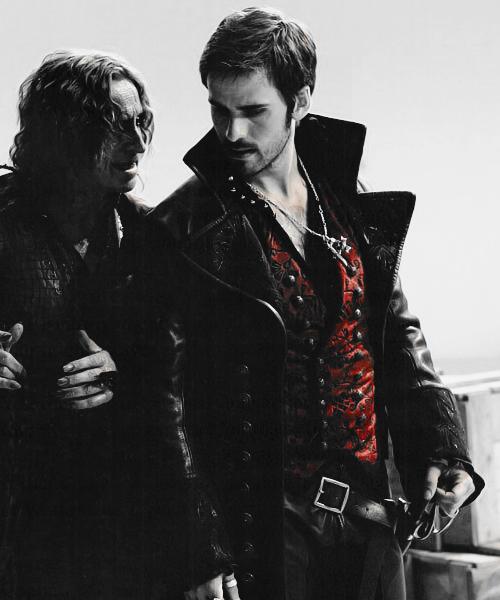 Rumpelstiltskin & Captain Hook