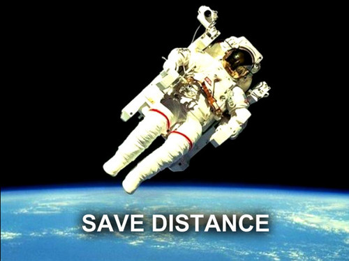 SAVE DISTANCE