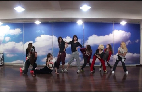 Girls Generation/SNSD wallpaper with a concert entitled SNSD Dance Practice for I Got A Boy