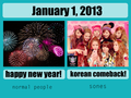 SNSD Korean Comeback