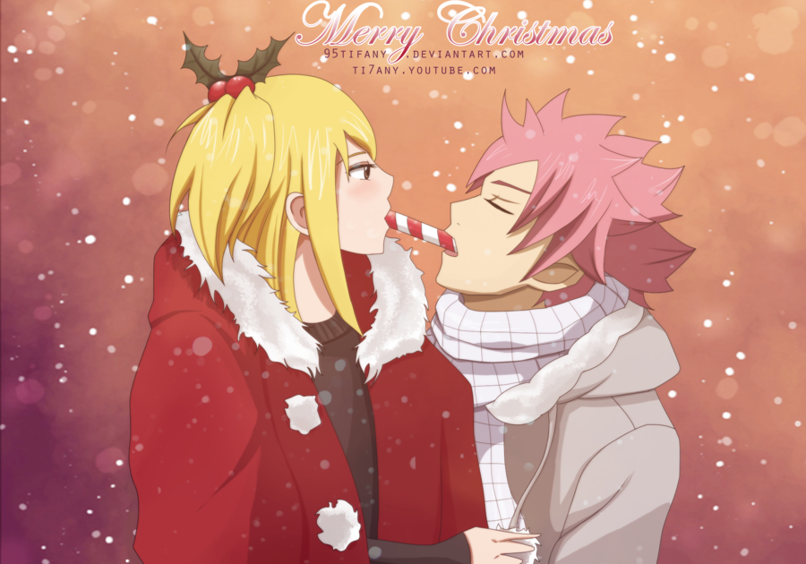 Natsu X Lucy Images Santa S Candy Hd Wallpaper And Background Photos