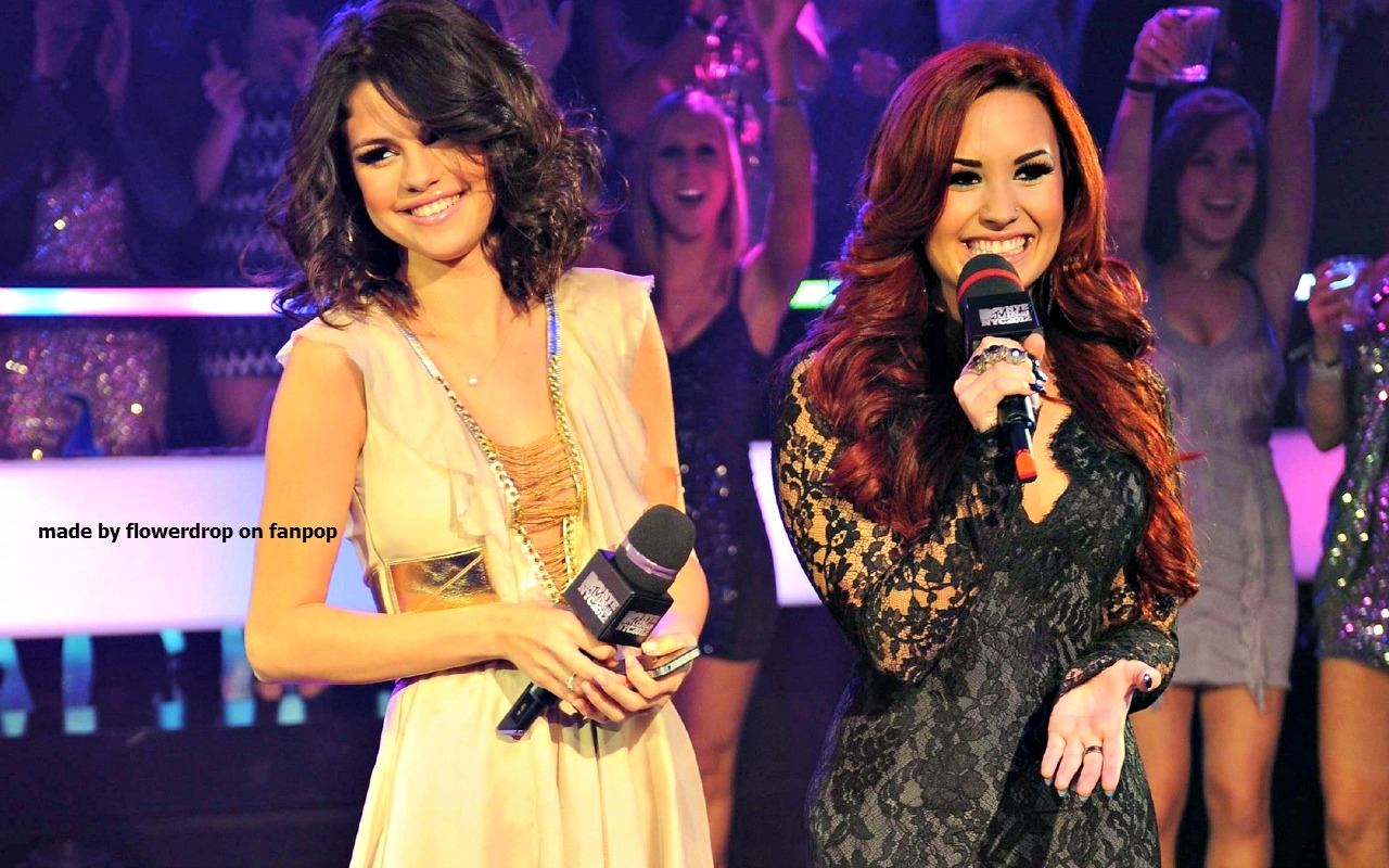 Selena Demi Wallpaper Gomez And Lovato