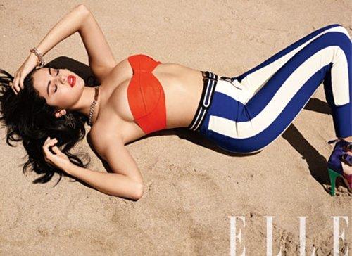 Selena Gomez ELLE photoshoot