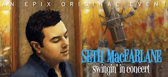 Seth MacFarlane Swinging In concierto