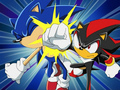 Shadow V.S sonic_by_Creative toons channle - sonic-x photo