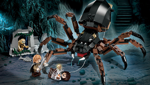 Shelob Attack Lego Collection