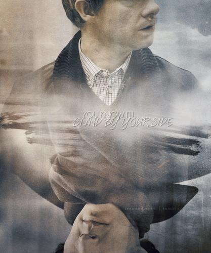 Sherlock in der BBC Hintergrund called Sherlock & John