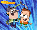 "Sidekick: ""High five"" wallpaper - cartoon-networks-sidekick wallpaper"