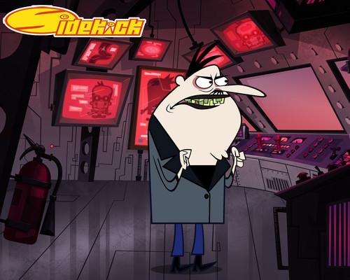 Sidekick: Master Xox karatasi la kupamba ukuta
