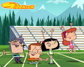 "Sidekick: ""Touchdown"" wallpaper - cartoon-networks-sidekick wallpaper"