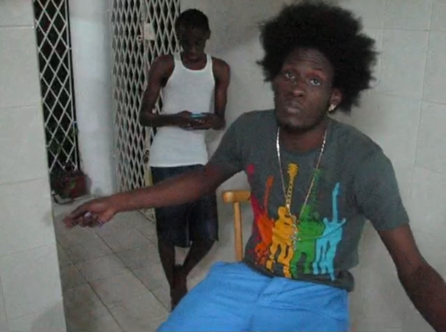 Snap-shot of Aidonia