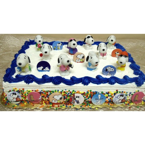 स्नूपी cake