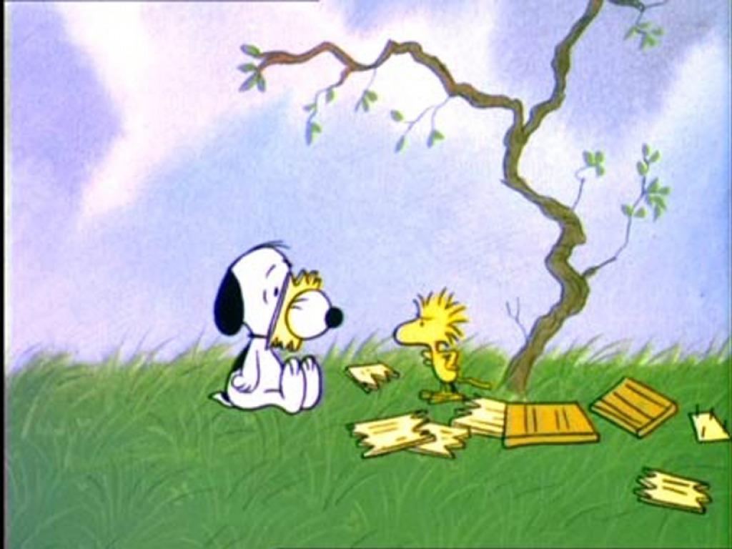 Snoopy پیپر وال