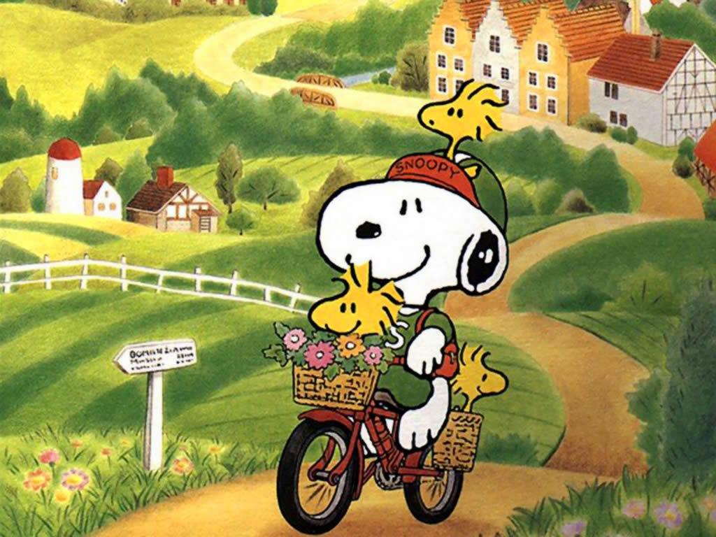 Snoopy y Charlie Brown: Peanuts | Fondo de pantalla