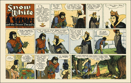 Snow White Comic from 1938