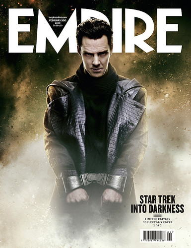 ngôi sao Trek Into Darkness | Empire Exclusive Cover