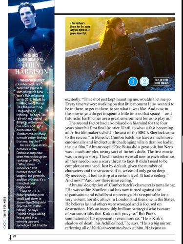 star, sterne Trek Into Darkness | Empire Magazine