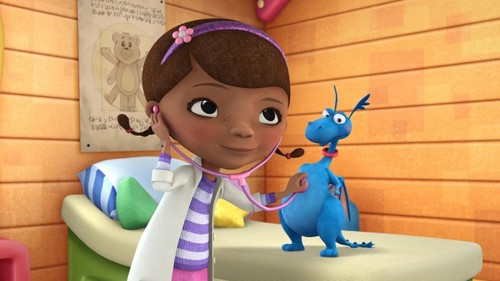 Doc Mcstuffins wallpaper entitled Stuffy and Doc