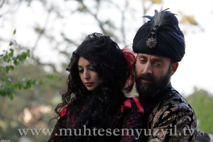 Suleyman and Isabela - horse riding
