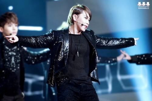 Sungmin @ SBS Gayo Daejun