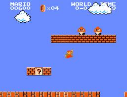Super Mario Hintergrund titled Super Mario Bros gameplay