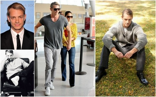 Joel Kinnaman karatasi la kupamba ukuta containing a business suit called Swedish hunk Joel Kinnaman