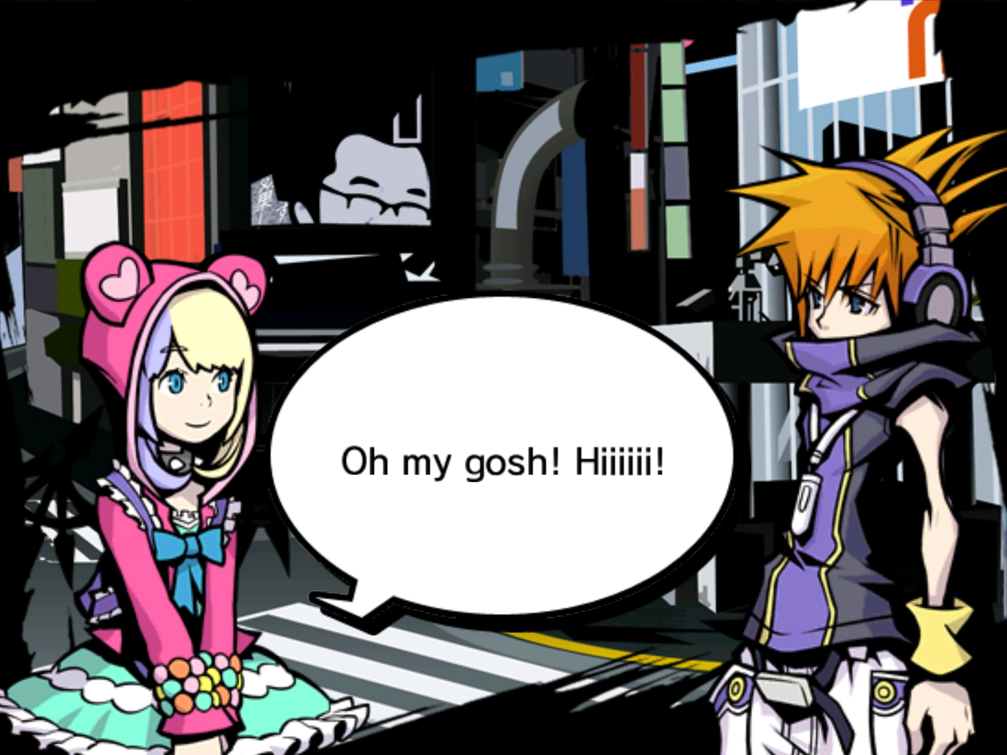 The World Ends With You Twewy Images Twewy Hd Wallpaper And