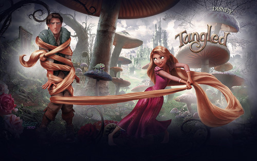 tangled wallpaper titled tangled (CROvalentina)