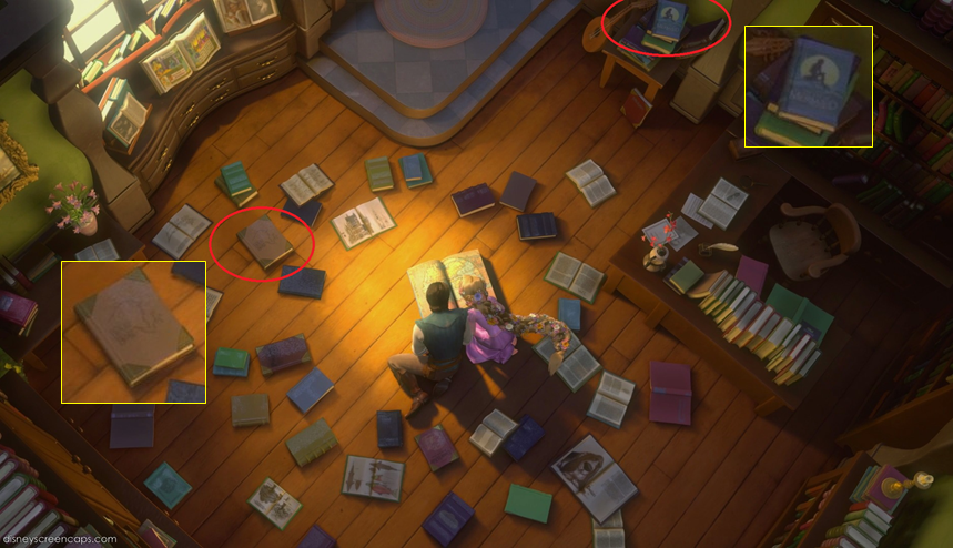 Tangled Easter Eggs- The Little Mermaid/Beauty and the Beast