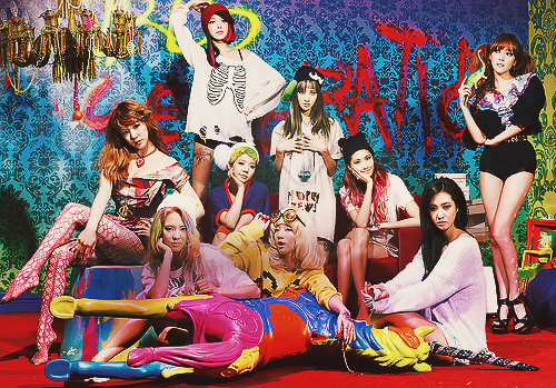 The 4th Album 'I got a Boy' Teaser Image