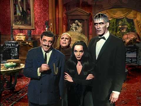 The Addams Family 1964 wallpaper with a business suit, a suit, and a dress suit entitled The Addams Family