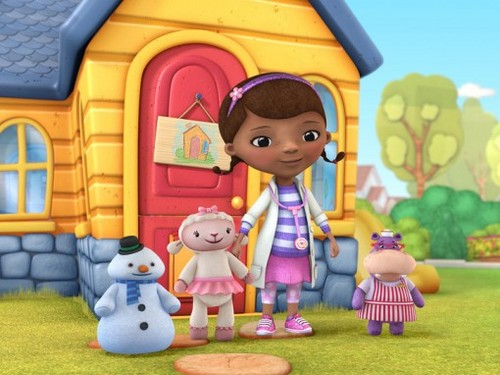 The Doc Mcstuffins cast - doc-mcstuffins Photo
