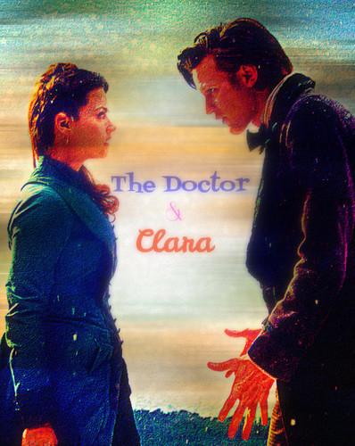 The Doctor and Clara Fanart