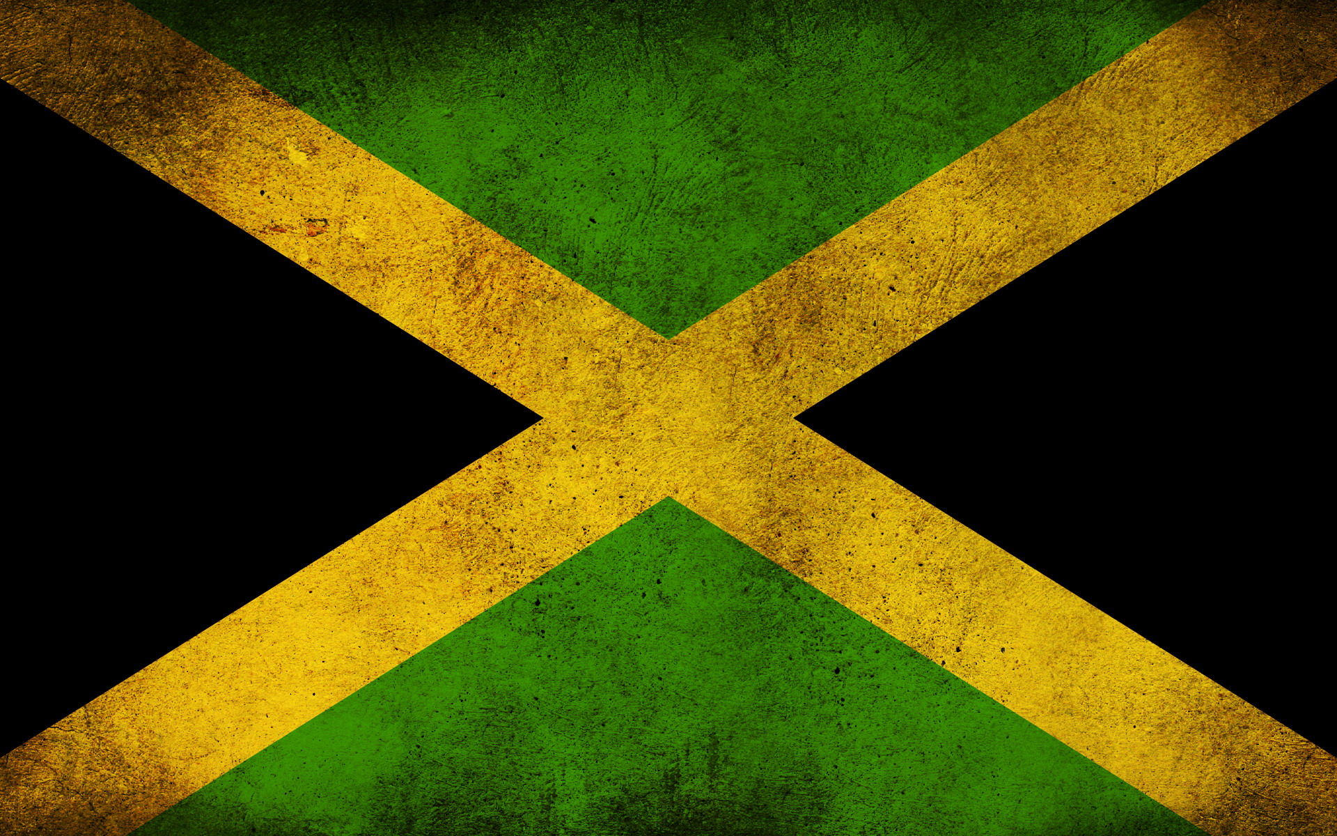 The Flag of Jamaica