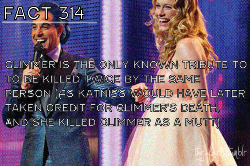 The Hunger Games wallpaper entitled The Hunger Games facts 301-320