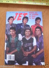 "The Jacksons On The Cover Of ""JET"" Magazine"