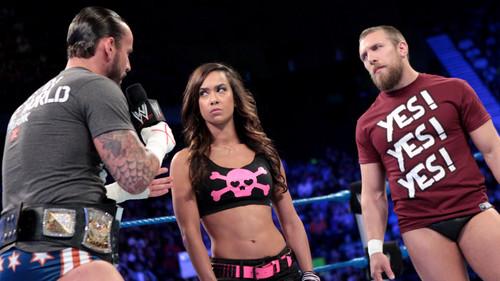 The Many Loves Of A.J. Lee: AJ,CM Punk,Daniel Bryan