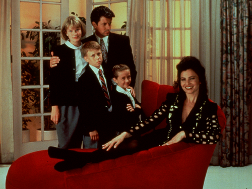 The Nanny wallpaper probably with a living room, a drawing room, and a den called The Nanny