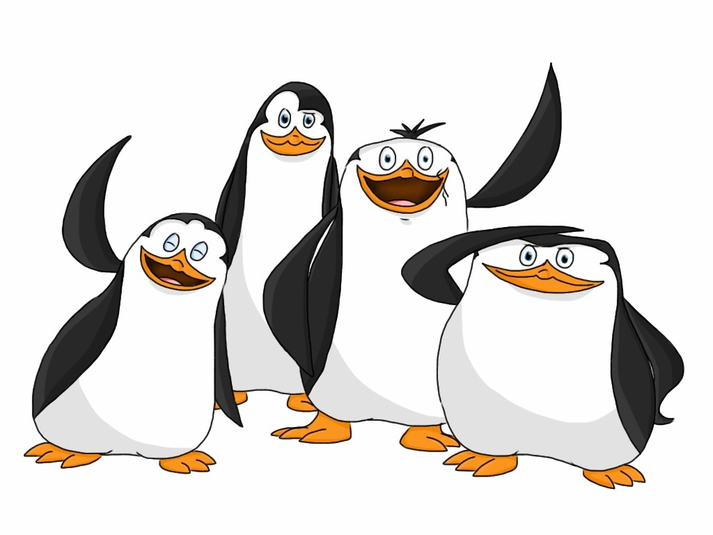 Penguins Of Madagascar Coloring Pages #10
