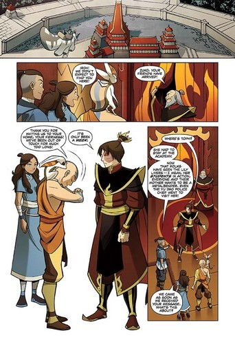 Avatar The Last Airbender kertas dinding with Anime titled The cari - first pages