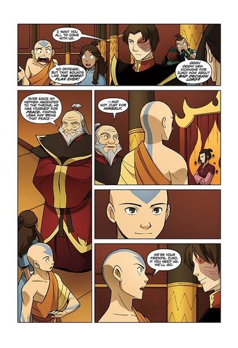 Avatar The Last Airbender karatasi la kupamba ukuta with anime entitled The tafuta - first pages