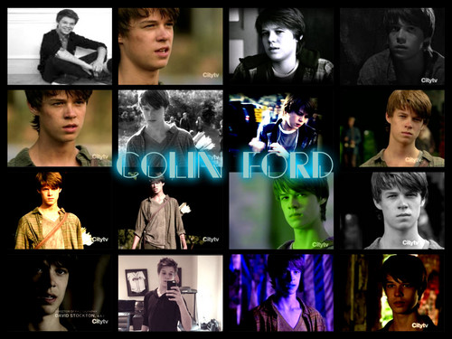 Colin Ford karatasi la kupamba ukuta possibly with a stained glass window called The Sexy Colin Ford