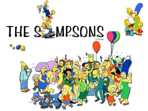 The Simpsons wolpeyper titled The Simpsons
