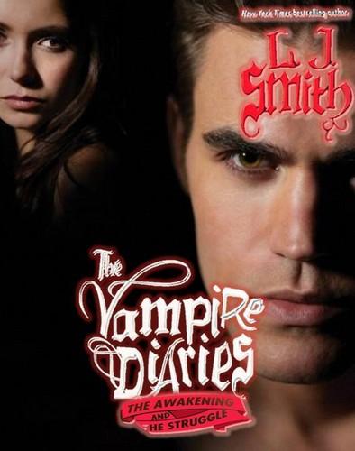 The Vampire Diaries Novels: Stelena cover